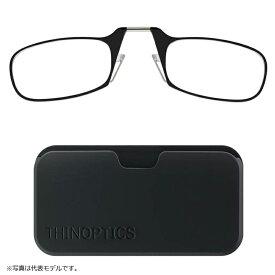 シンオプティクス ThinOptics ポッド 1.4倍 ブラック / 老眼鏡 拡大鏡 ルーペ 携帯型