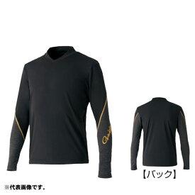 がまかつ GM-3620 2WAYストレッチアンダーシャツ 3L ブラック / アンダーウェア 肌着 長袖 インナー 【感謝祭 釣具のFTO】