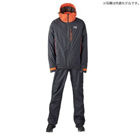 ダイワ(Daiwa) DR-33020 レインマックス(R) レインスーツ 2XL ブラック / ウェア レインスーツ セットアップ 上下セット 【釣具 釣り具】