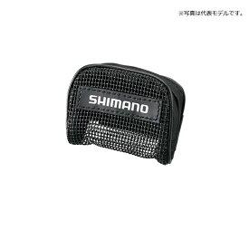シマノ(Shimano) AC-012T おもりポーチ ブラック / ポーチ 便利用品 おもり入れ 【釣具 釣り具】