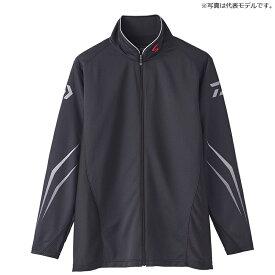 ダイワ(Daiwa) DE-72020 スペシャル ウィックセンサー フルジップ長袖メッシュシャツ M ブラック / ウェア シャツ ジップシャツ 【釣具 釣り具】