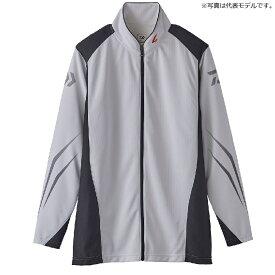 ダイワ(Daiwa) DE-72020 スペシャル ウィックセンサー フルジップ長袖メッシュシャツ M ホワイト / ウェア シャツ ジップシャツ 【釣具 釣り具】