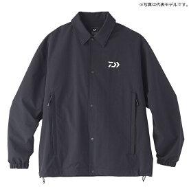 ダイワ(Daiwa) DJ-35020 撥水 コーチジャケット XL ブラック / ウェア ジャケット 上着
