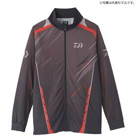 ダイワ(Daiwa) DE-75020 ロングスリーブ ドライシャツ XL ブラック / ウェア 長袖 ジップシャツ
