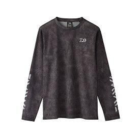 ダイワ(Daiwa) DE-86020 ドライメッシュ ロングスリーブTシャツ 2XL ブラックヘクス / ウェア 長袖 ロンT