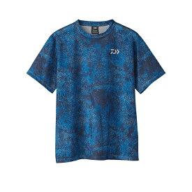 ダイワ(Daiwa) DE-87020 ドライメッシュ ショートスリーブTシャツ M ブルーヘクス / ウェア 半袖 Tシャツ