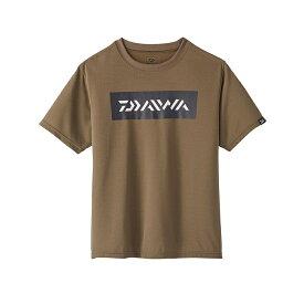 ダイワ(Daiwa) DE-95020 ショートスリーブTシャツ XL ダークオリーブ / ウェア 半袖 【お買い物マラソン 釣具のFTO/フィッシング タックル オンライン】