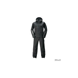 シマノ(Shimano) RA-017T GORE-TEX(R) アドバンスレインスーツ M ブラック / レインウェア セットアップ 【6/30迄 キャッシュレス5%還元対象】