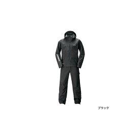 シマノ(Shimano) RA-017T GORE-TEX(R) アドバンスレインスーツ 4XL ブラック / レインウェア セットアップ 【6/30迄 キャッシュレス5%還元対象】