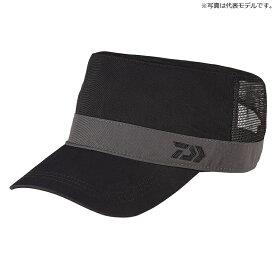 ダイワ(Daiwa) DC-65020 撥水ハーフメッシュワークキャップ フリー ブラック / 帽子