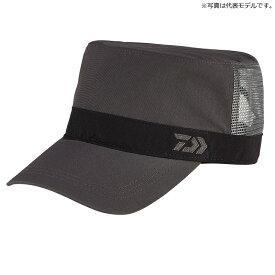 ダイワ(Daiwa) DC-65020 撥水ハーフメッシュワークキャップ フリー チャコール / 帽子