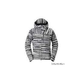 シマノ(Shimano) RA-04JT DSエクスプローラーレインジャケット L リフレクトグレー / ウェア ジャケット 上着 上のみ 【釣具 釣り具】
