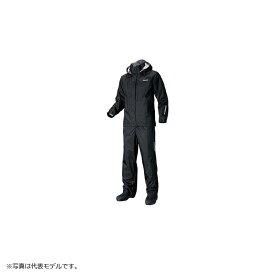 シマノ(Shimano) RA-027Q DSベーシックスーツ XL ブラック / ウェア レインウェア セットアップ 上下セット 【6/30迄 キャッシュレス5%還元対象】