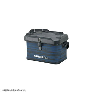シマノ(Shimano) BK-002T EVA タックルバッグ(ハードタイプ) 22L リフレクトブルー / ケース タックルボックス