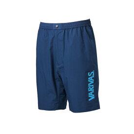 バリバス VASS-09 ウォータープルーフショートパンツ ネイビーxブルー M / ウェア ズボン 下のみ ハーフパンツ 撥水 防水 【釣具のFTO 10/25(日)は楽天カードでポイント最大8倍 最終日】