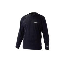 がまかつ GM3657 ロングスリーブTシャツ L ブラック 【釣具 釣り具】