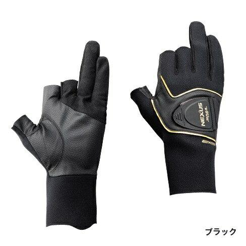 シマノ NEXUS・クロロプレンEXSサーマルロンググローブ3 ブラック L