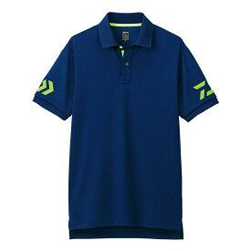 ダイワ(Daiwa) DE-7906 半袖ポロシャツ ネイビーxサルファースプリング M /ウェア