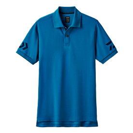 ダイワ(Daiwa) DE-7906 半袖ポロシャツ モロッカンブルー×ネイビー XL /ウェア
