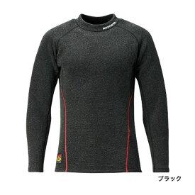 シマノ(Shimano) シマノ(Shimano) IN-021Q ブレスハイパー+℃ ストレッチハイネック アンダーシャツ (極厚タイプ) ブラック L 【6/30迄 キャッシュレス5%還元対象】