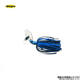 デプス(deps) Bカスタムチャター 3/8oz 06ブルーブラック 3/8oz 【釣具 釣り具 お買い物マラソン】