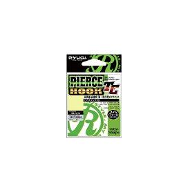 リューギ ピアスフック TC ブラック 5/0+ 【釣具 釣り具】
