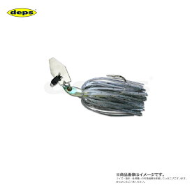 デプス(deps) Bカスタムチャター 3/8oz 01ブルースモーク 3/8oz 【釣具 釣り具 お買い物マラソン】