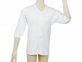 テイコブ らくホック肌着 七分袖 紳士用/幸和製作所【RCP】 衣類 肌着・シャツ 肌着 介護用品.