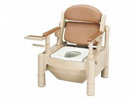 KX-SDR/アロン化成【RCP】 トイレ及び排泄関連 ポータブルトイレ 樹脂製トイレ 介護用品.