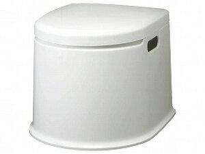 ポータブルトイレP型/山崎産業【RCP】トイレ及び排泄関連 ポータブルトイレ 樹脂製トイレ