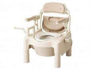 FX-CPはねあげ暖房・快適脱臭トランスファ-タイプ/アロン化成【RCP】トイレ及び排泄関連 ポータブルトイレ 樹脂製トイレ