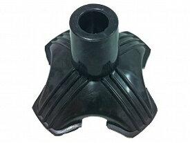 替えゴム4点DX 19mm ブラック/フジホーム【RCP】 歩行関連商品 杖 杖先ゴム・アイスピック 介護用品