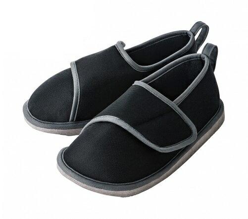 転倒予防シューズ つま先つき / 竹虎ヒューマンケア事業部【RCP】介護用品 介護靴 介護シューズ 室内履き