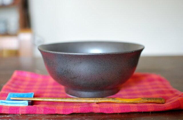 和食器 シンプル器 麺鉢 めん鉢  黒茶 丼 美濃焼【Sale 美濃焼 人気食器/めん鉢/茶碗/丼】