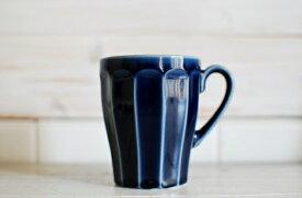 カフェ食器 ネイビーブルー マグカップ【今月のSALE/fuccaお値打ち価格 】