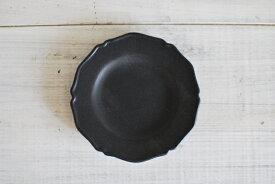 新商品 プチプレート ラウンドプレート ブラックマット 丸小皿 小皿 美濃焼 人気洋食器 【sale 人気食器 美濃焼 インスタグラム】