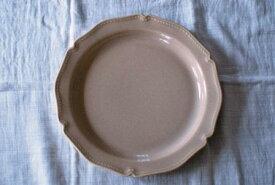 人気洋皿 シャンパーニュ 24cmプレート ベージュ ディナープレート ワンプレート 美濃焼【SALE/fuccaお値打ち価格】