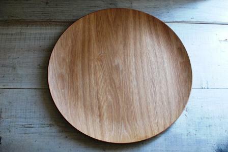 木製品 ラウンド トレイ 34センチ ウィローウッド 木製プレート 木製食器  ワンプレート 木製トレー 【今月のsale/fucca限定価格 】