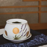 茶香炉有田焼ラベンダーアロマアロマポット香炉癒しリラックス日本茶茶葉香水インテリア雑貨消臭おしゃれ