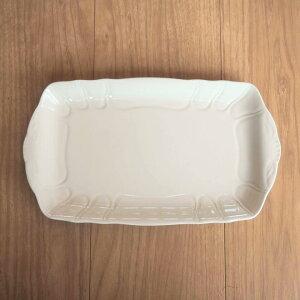 特価品 角皿 大皿 29cm アイボリー プレート ホワイト 大きい 白 和食器 洋食器 中華 和食 洋食 有田焼 日本製