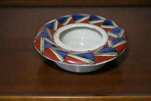 【在庫処分 特価】有田焼 灰皿 幾何学模様 タバコ シガーボックス 焼物 陶器 磁器 オリジナル 白磁 有田 有田焼の灰皿 おしゃれ かわいい アッシュトレー ashtray porcelain