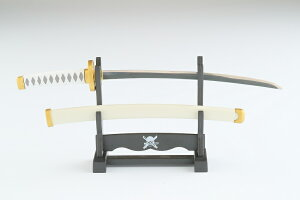 ニッケン刃物 OP-40ZW ワンピースペーパーナイフ 和道一文モデル 全長205mm 持ち手:白/鞘:白 材質 刃体:ステンレス刃物質/持ち手:ABS+エラストマー/鞘・掛け台:ABS