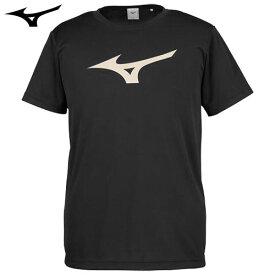 ミズノ(MIZUNO) Tシャツ(32JA8155) ブラック×ゴールド L