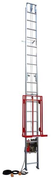 【ユニパー】 室内用ボード揚げ機 助っ人リフト UP-639BS-2F(フルセット2階用セット)