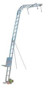 【トーヨーコーケン】アルミ連結梯子瓦揚機マイティパワーAL4-MD2N