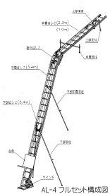 【トーヨーコーケン】AL4シリーズ用『梯子セット』AL4-O#010000011