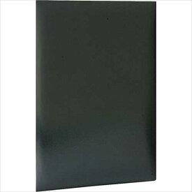 ナカバヤシ 証書ファイル(コーナー後付) VPクロス貼りタイプ A4判 FSL-A4C-D黒