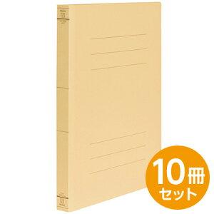 【ポイント5倍】フラットファイルJ ・ワイド イエロー A4 10冊セット フF-JW80Y