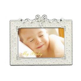 ベビーギフト LADONNA(ラドンナ) ベビーフレーム MB31-P-WH ホワイト ベビーギフト フォトフレーム 写真立て 出産祝い 誕生記念 七五三 記念 写真【メーカー取寄】 #300#