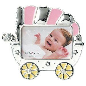 ベビーギフト LADONNA(ラドンナ) ベビーフレーム MB70-S2 ベビーギフト フォトフレーム 写真立て 出産祝い 誕生記念 七五三 記念 写真【メーカー取寄】 #300#